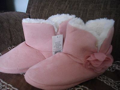 ladies boot slippers size7-8