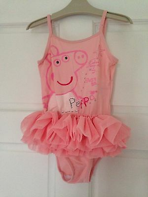 Next Peppa Pig SwimSuit Age 4-5 Yrs