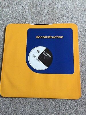 """Way Out West. The Gift. 12"""" Vinyl On Deconstruction Records"""
