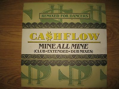 Cashflow Mine All Mine 12 inch vinyl record in immaculate condition 1986