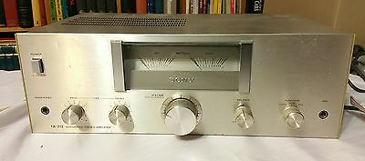 Sony TA-212 Integrated Stereo Amplifier (1978-80)