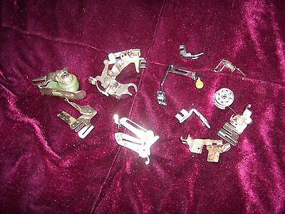 11 Vintage Singer Sewing Machine Parts Good Condition