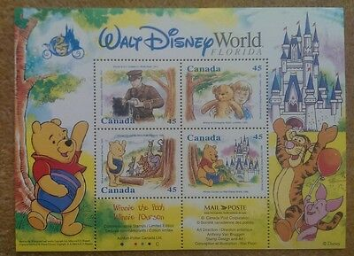 Disney Stamps Winnie the Pooh A.A.Milne (World of Postage Stamps Collection)