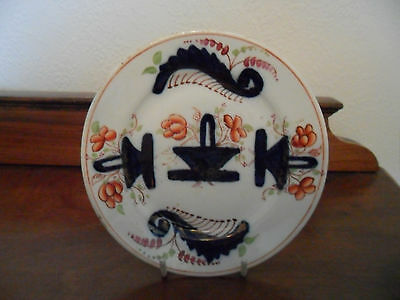 Antique Gaudy Welsh Plate