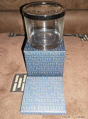 Partylite Clearly Creative   Candle Holder   2pcs  New & Boxed