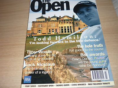 Open Golf 2005 Official Magazine