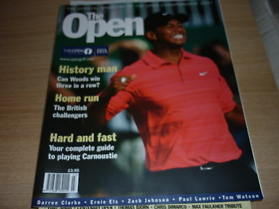 Open Golf 2007 Official Magazine