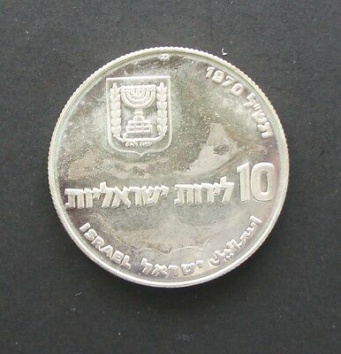 Israel 1970 Pidyon Haben Silver Proof Coin