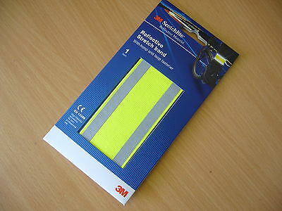 3M Scotchlite Hi-Vis Reflective Stretch Band running/cycling (wrist, arm, ankle)