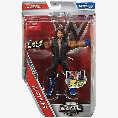 AJ Styles with Entrance Jacket - Elite Series 47 - WWE Action Figure