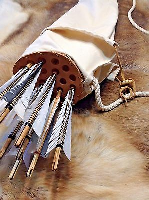Medieval Bag Quiver for english longbow