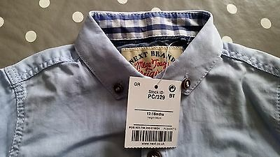 Brand new with tags baby boys cotton shirt from Next 12-18 months