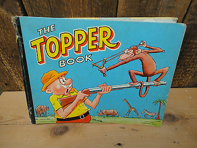 The Topper Book Children's Annual Hardback Collectors Vintage 1959