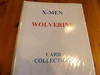 Wolverine trading cards   complete