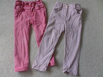 2 x pink trousers - Next 3-4