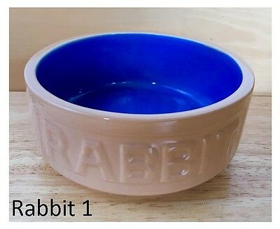 RABBIT FOOD BOWL Guinea Pig Chinchilla Degu Rat Cavy Small Animal Water Dish