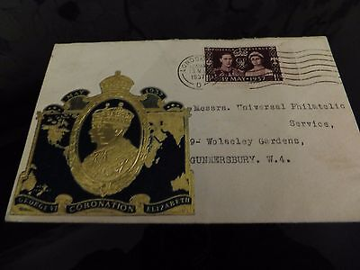 1937 Coronation 1St Day Cover