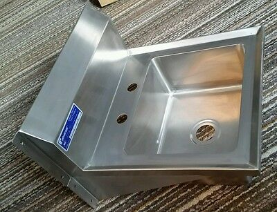 New Universal MODEL IL-CHS-1WM NSF Stainless Steel Hand Sink Commercial