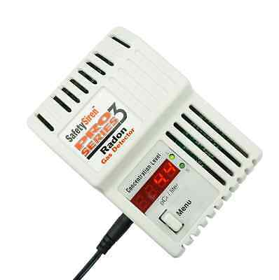 Safety Siren Pro Series3 Radon Gas Detector - HS71512 by Family Safety Products,