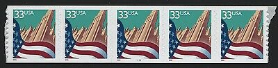 United States MINT SCOTT 3280 #433  PLATE NUMBER COIL MNH VF - BARNEYS