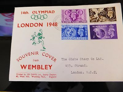 1948 Olympic Games 1St Day Cover