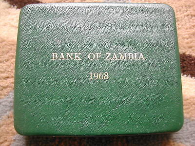 Zambia 5 coin Proof set - 1968