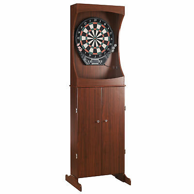 Hathaway Games Outlaw Free Standing Dartboard and Cabinet Set