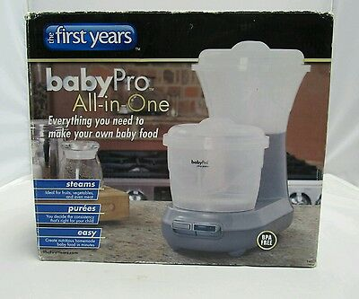 The First Year BabyPro All in One Baby Healthy Food Maker Processor NIB Y4626