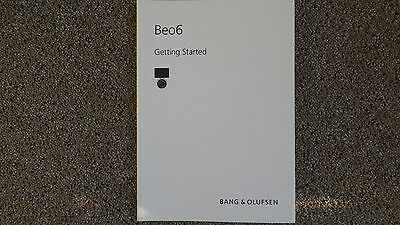 Bang & Olufsen   B&O  Beo6 User Guide New, Old Stock