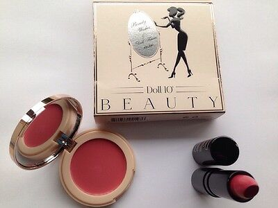 Doll 10 Blush And Lipstick Duo NIB
