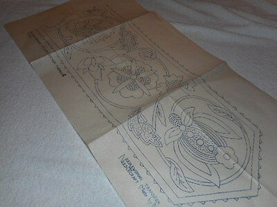 Vintage Embroidery Iron on Transfer- Needlewoman No.P702-D518- Flowers