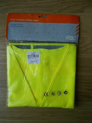 New RAC High Visibility Safety Vest, Size L