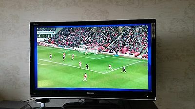 "TOSHIBA REGZA 46"" LCD TV HD READY BUILT-IN FREEVIEW WITH PC HDMI INPUTs 46XV555D"