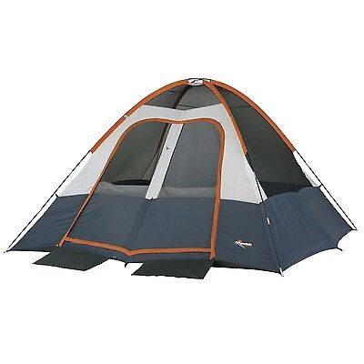 Wenzel Salmon River 2-Room Dome 6 Person Tent