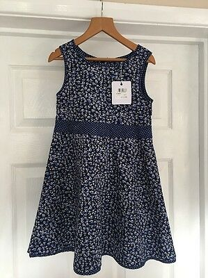 Bnwt Girls Party Dress From crew Clothing Age 5yrs Was £32 New!