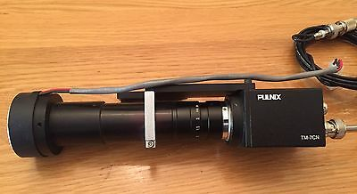 Pulnix Tm-7Cn Camera With Tamron 714127 Lens Assembly