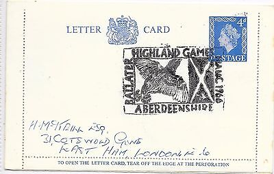 Gb Scotland Special Cancel Ballater Games August 1966