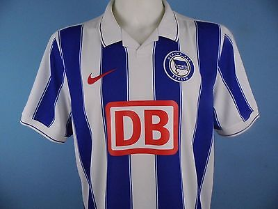 Authentic Hertha Berlin 2009/10 Home Shirt Size Large Nike