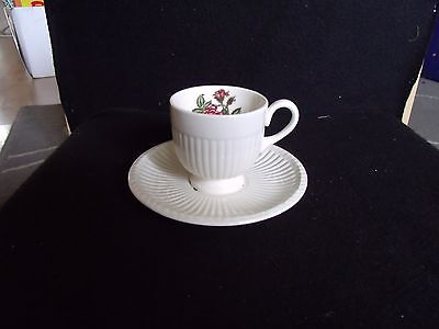 wedgewood moss rose coffee cup and saucer
