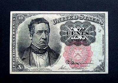 United States America USA 10 Cents Fractional Currency Series of 1874 VF+