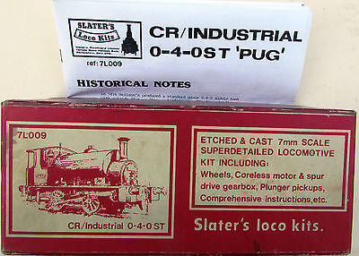 7mm finescale CR/LMS/BR 264/611 Class 0-4-0 Tank Loco kit by Slaters