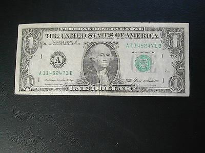 United States One Dollar Banknote 1985