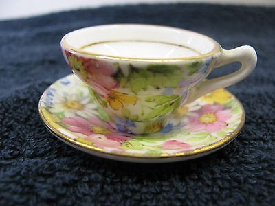miniture Rosina cup and saucer 5005 made in england bone china