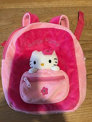 Hello Kitty Rucksack bag and Hello Kitty Pen. Excellent condition