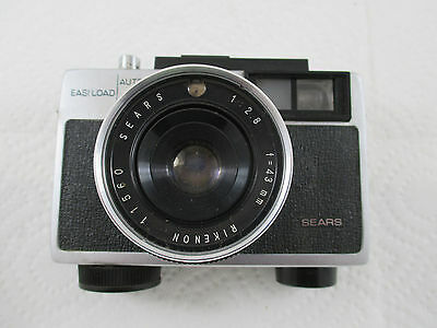 Vintage Sears EasI-load 600 camera With original Leather Case