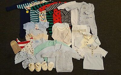0-3 month boys bundle from M&S, Next & TU