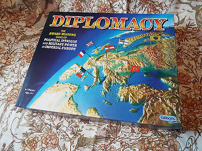 Gibson Games - DIPLOMACY Board Game - 1981 Style - Re-Issue