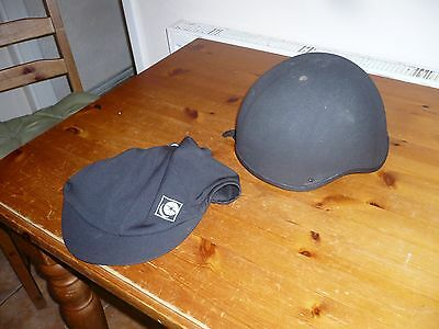 Charles Owen young riders skull cap plus cover