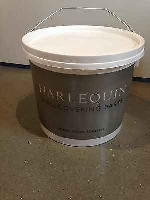 Harlequin Wallpaper Wallcovering ready mixed paste adhesive 5kg USED