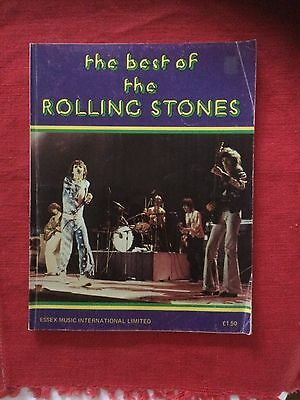 Rolling Stones 'The Best of the Rolling Stones' original copy sheet music.